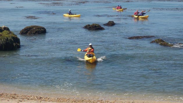 Solo and Tandem Kayak or SUP Rentals | Central Coast Kayaks