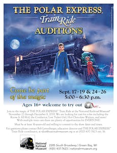 THE POLAR EXPRESS™ Train Ride Auditions|National Railroad Museum