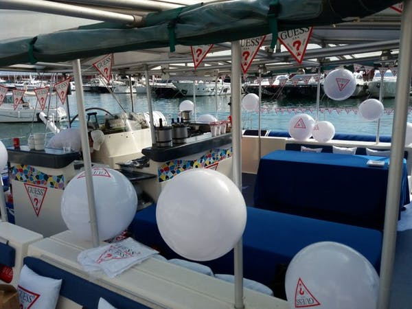 Globos decorativos evento corporativo