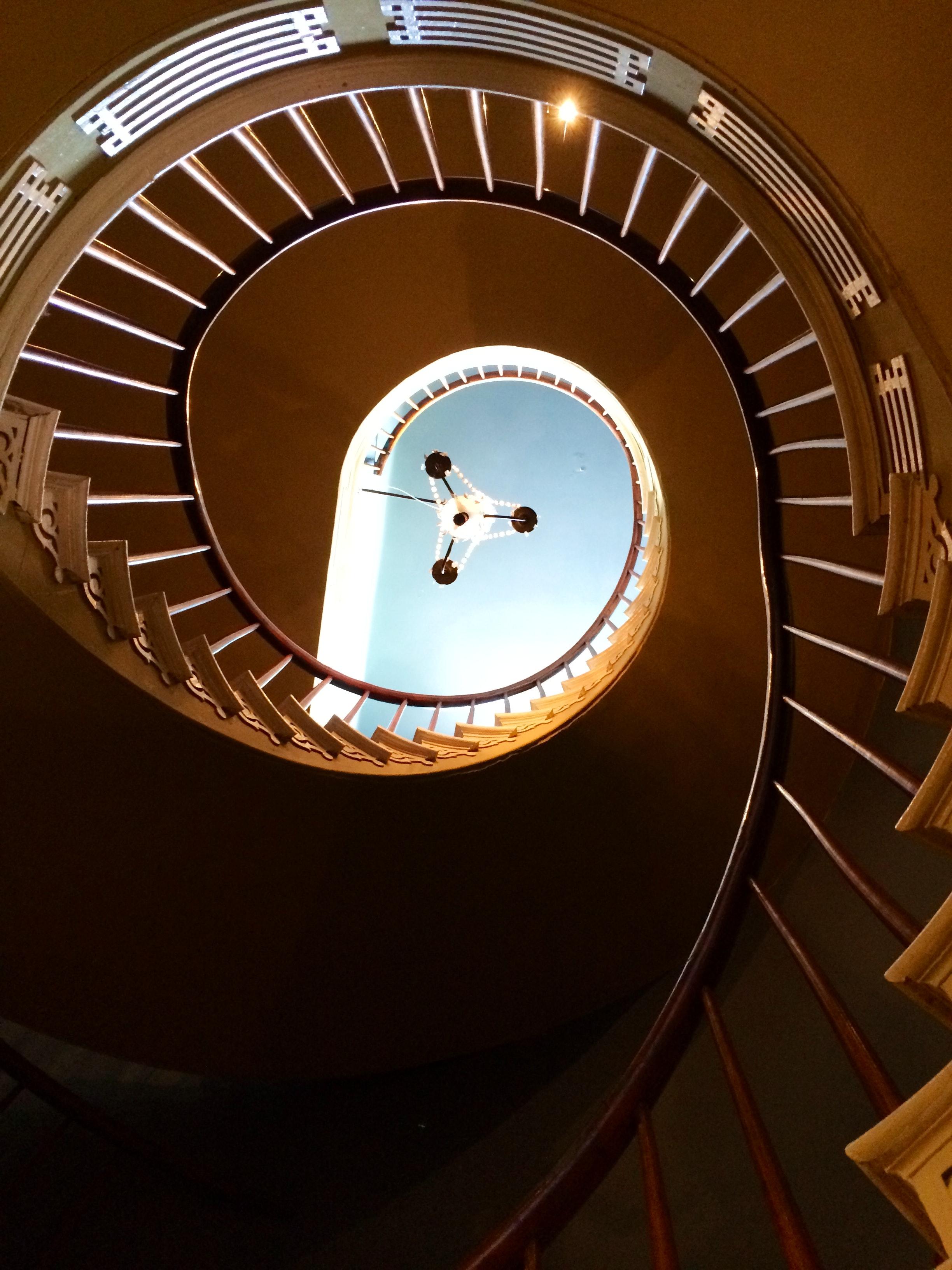 Houmas House staircase