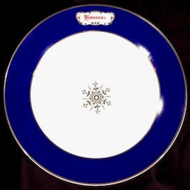 Houmas House Signature China Collection Dinner Plate