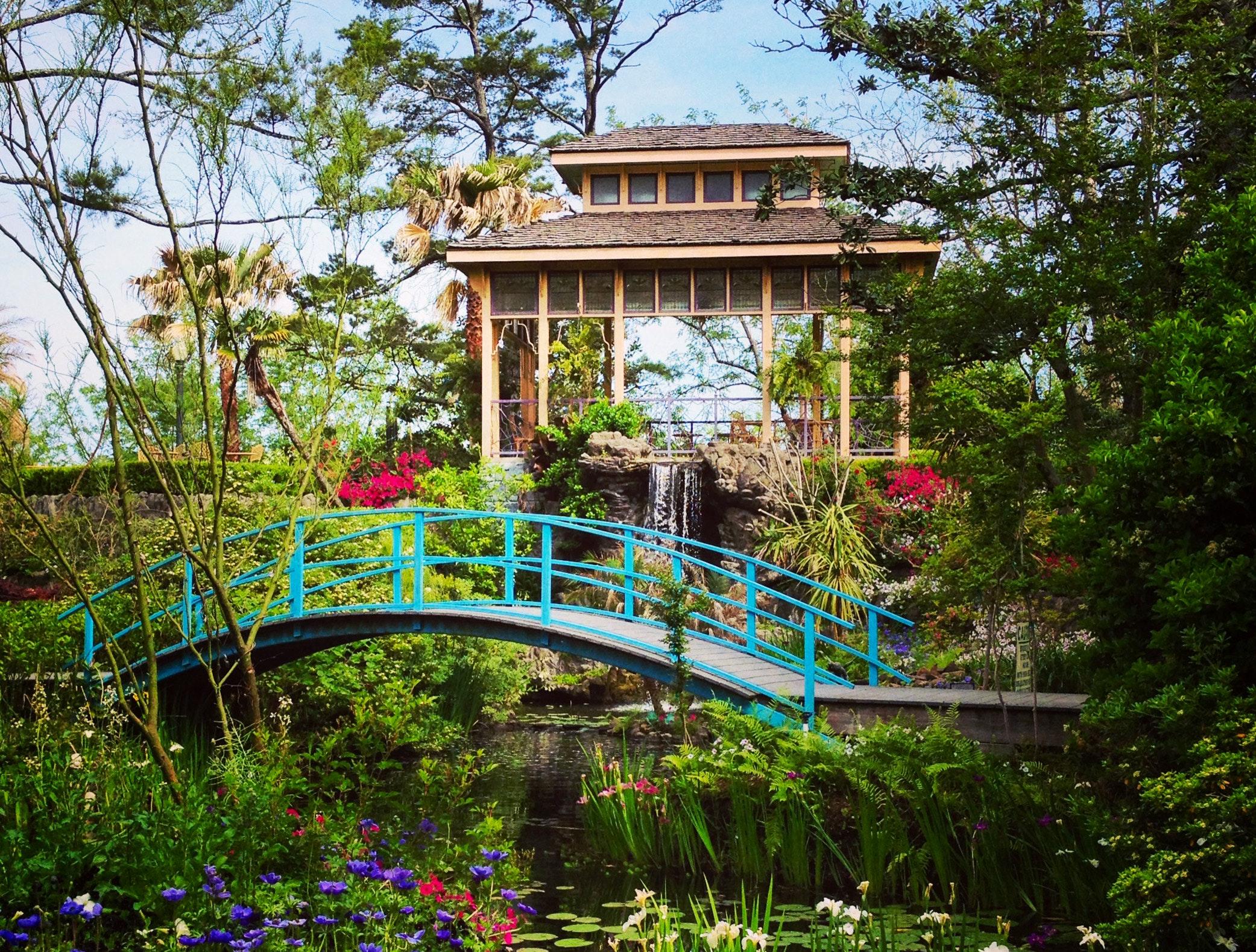 Houmas House Tea Garden Spring