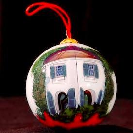 Garconierre Glass Ball Ornament