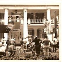Filming of Hush Hush Sweet Charlotte- 1964