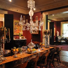 Dining Room and Ladies Parlor