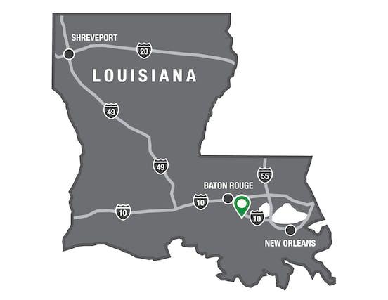 Darrow Louisiana Map.Directions Houmas House