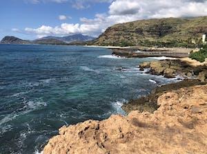 hawaiis rugged coastline