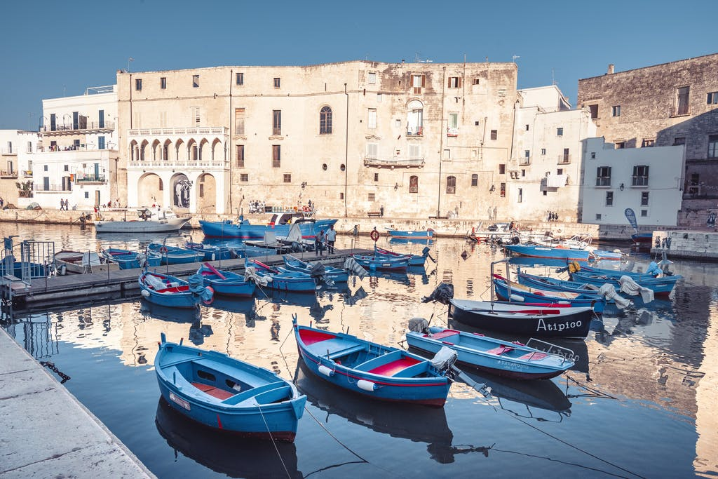Seaside town in Puglia