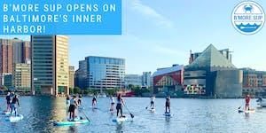 Baltimore Inner Harbor Padleboarding