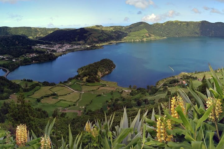 Views of Sete Cidades