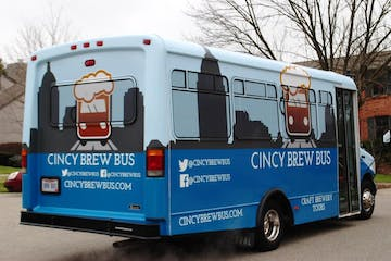 cincy brew bus view from behind