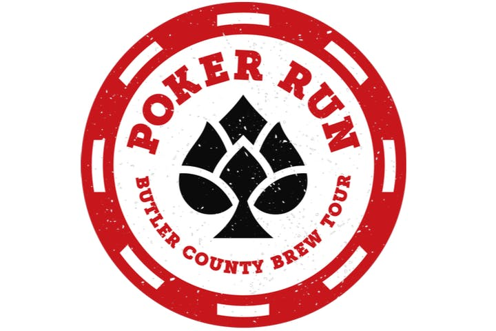 poker run butler county brew tour logo
