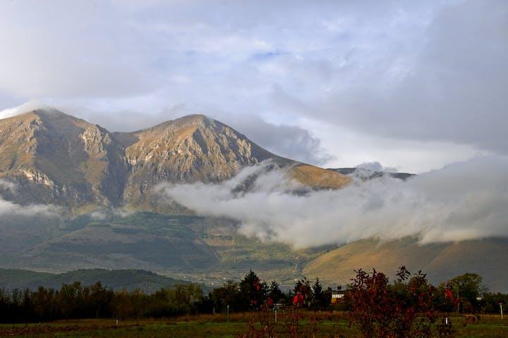 Mount Velino in Italy