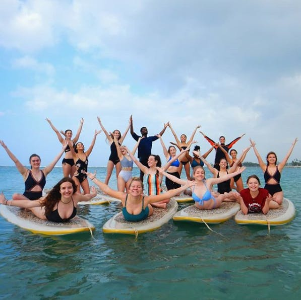 Sup Yoga Teacher Training Yoga Floats