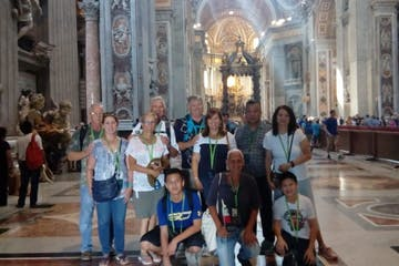 Small group in Vatican