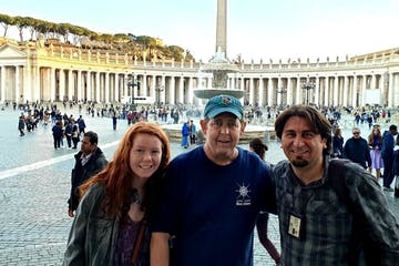 Small Group in Piazza San Pietro