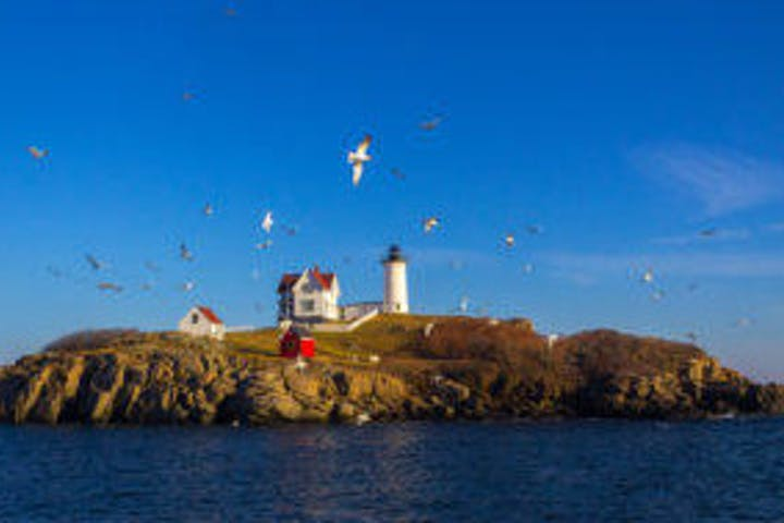Nubble Island Lighthouse