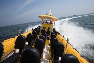 Thrill Boat Ride Tour in the Open Water - Hampton Beach, New Hampshire