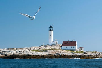 Isle of Shoals - Seen during Hampton Beach, NH Scenic Thrill Ride