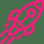 Space comet icon