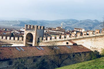 Soave Castle views in Italy