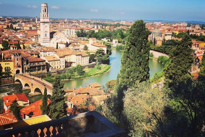 Verona, Italy, views during morning