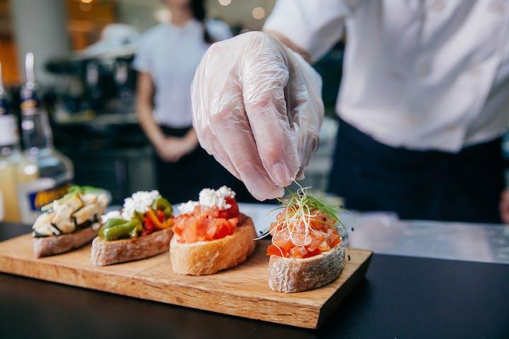 Private Italian Chef cooking