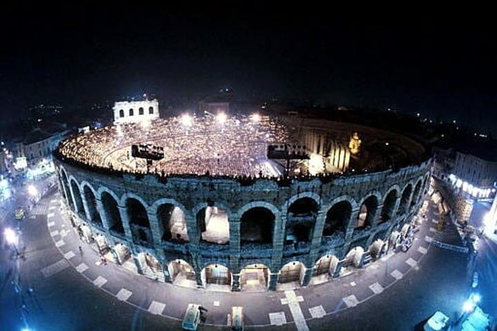 Opera night in the Arena di Verona