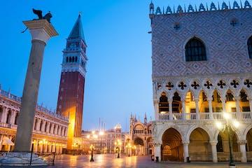 Venice, Italy, at night