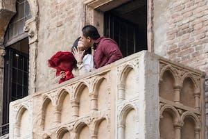 Promessa di matrimonio sul Balcone di Giulietta