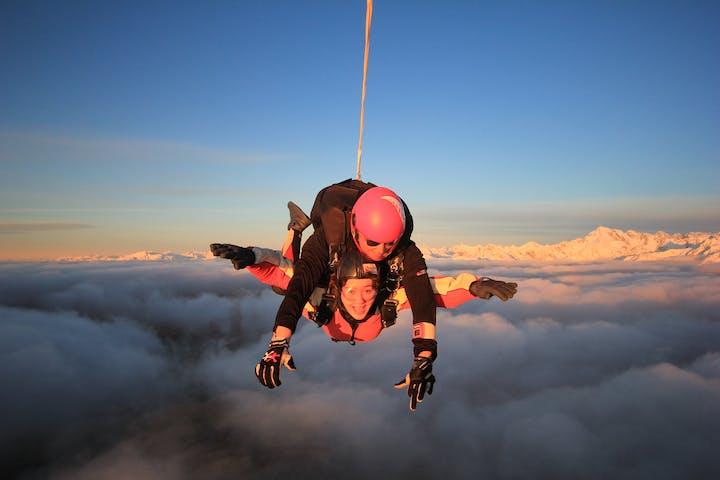 Tandem Skydive Over Mt Cook New Zealand