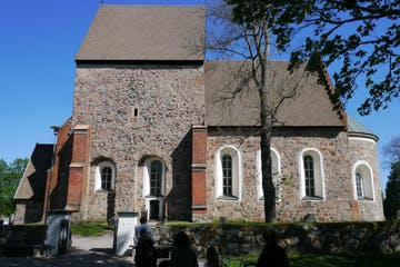 Private Medieval Church cobble walls
