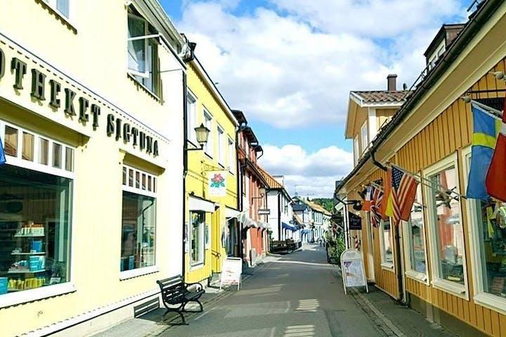 Sigtuna town center