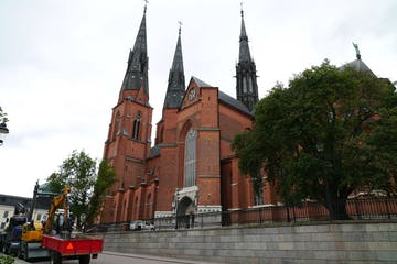 Uppsala Cathedral City Tours Medieval Gothic Architecture