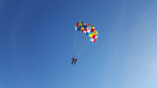 Parasailing trip from South Padre Island