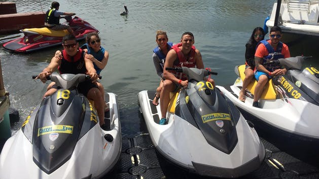 Jetski Water Tour with Parrot Eyes Watersports