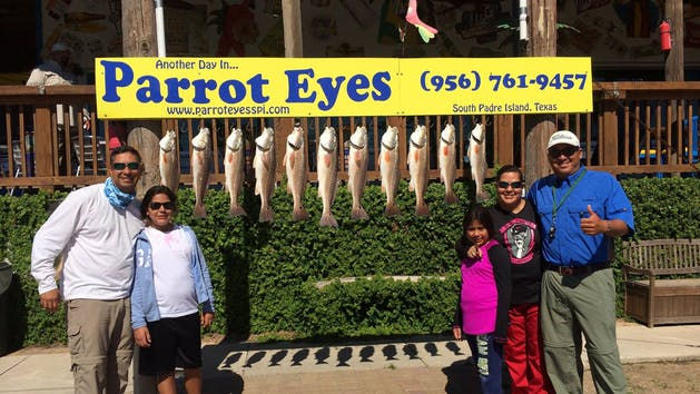 Fishing On South Padre Island Texas Parrot Eyes Watersports