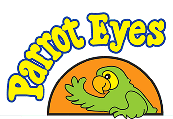 Parrot Eyes Logo