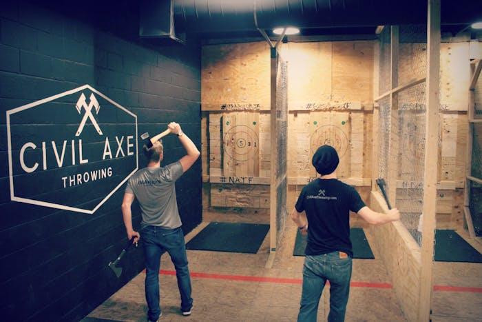 Axe Throwing Huntsville, AL | Civil Axe Throwing