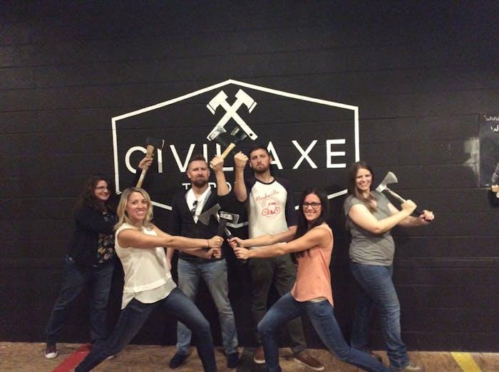 Axe Throwing Little Rock, AR | Civil Axe Throwing