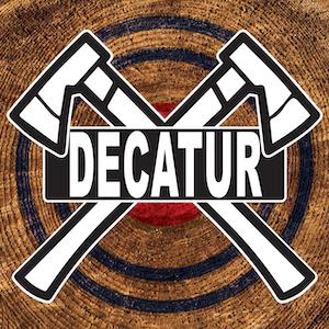 Decatur Axe Throwing logo