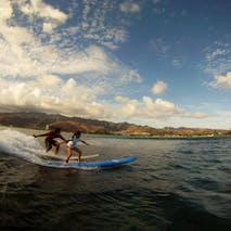 Surfing adventures in Hawaii