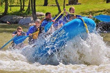 rafting in air