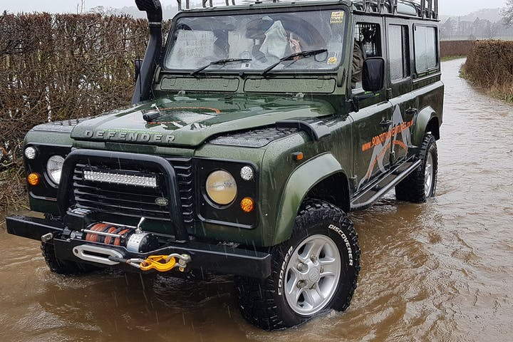 Land Rover Defender, 90 dirty