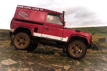 Land Rover Red