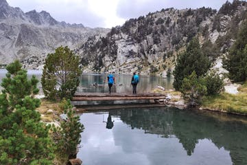 Hikers in Pyrenees National Park