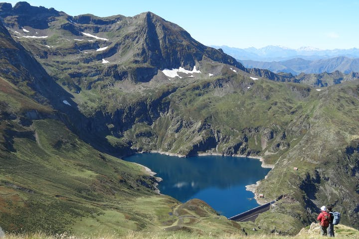 Lake in Vall d'Aran Catalonia