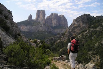 Trekking through Estels del Sud in Catalonia