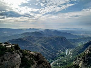 a view from Monstserrat Mountain