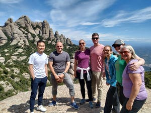 a group of people in Montserrat